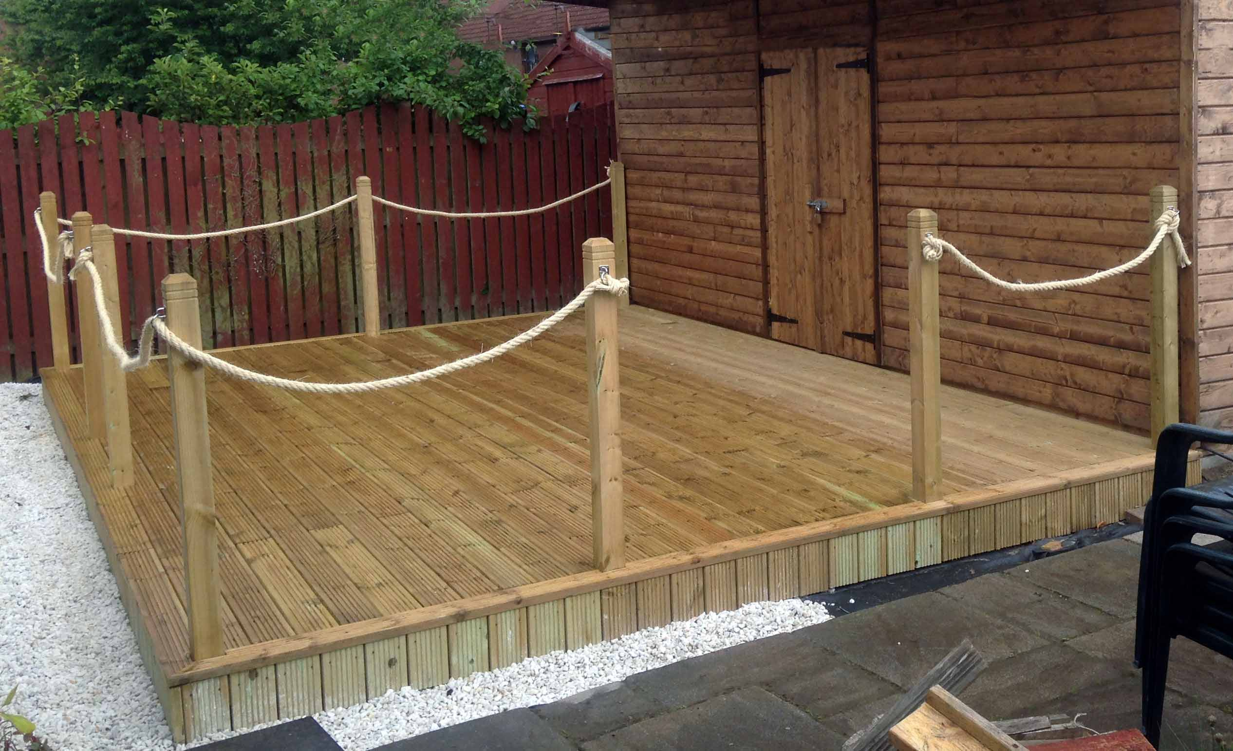 High Quality Decking Installation