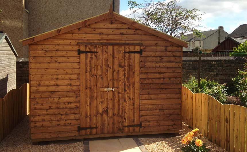 Shed Medium Timber