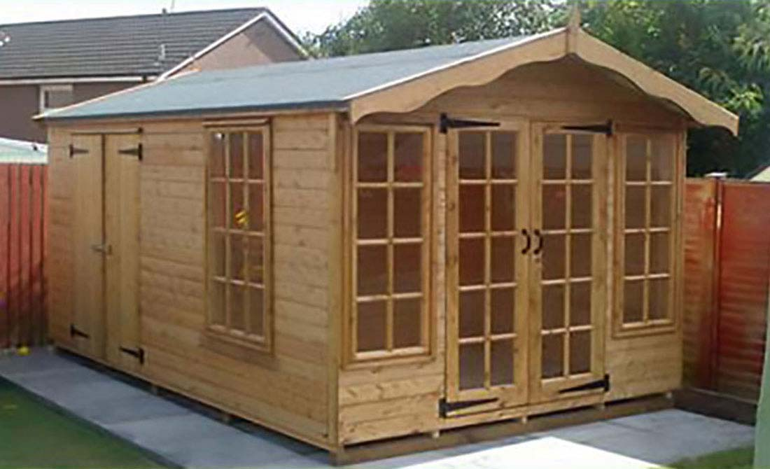 Summer house and Shed combo